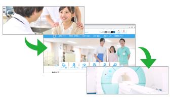 病院・クリニック専用ホームページ制作のお医者さんドットコム スライドメインイメージ
